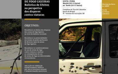 """31 de Maio,  ação de formação """"Efeitos das Armas de Fogo Ligeiras"""""""