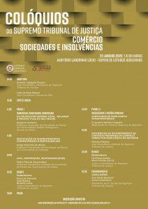 Colóquio sobre Comércio Sociedades e Insolvências