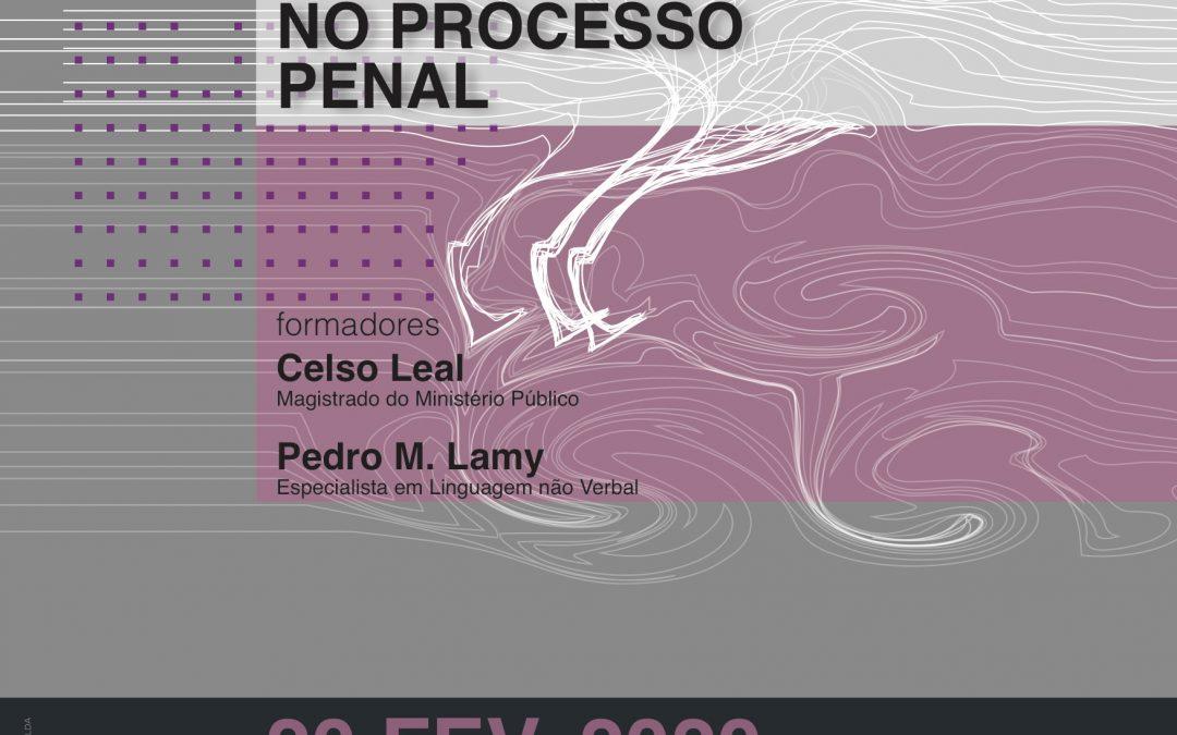"""Workshop """"Linguagem não Verbal no Processo Penal"""""""