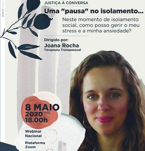 Justiça à Conversa com Joana Rocha – Webinar Nacional