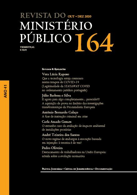Revista do Ministério Público Nº 164