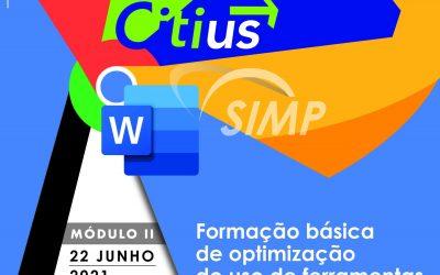 22 de JUNHO   Módulo II – Formação Básica de Optimização do uso de ferramentas informáticas