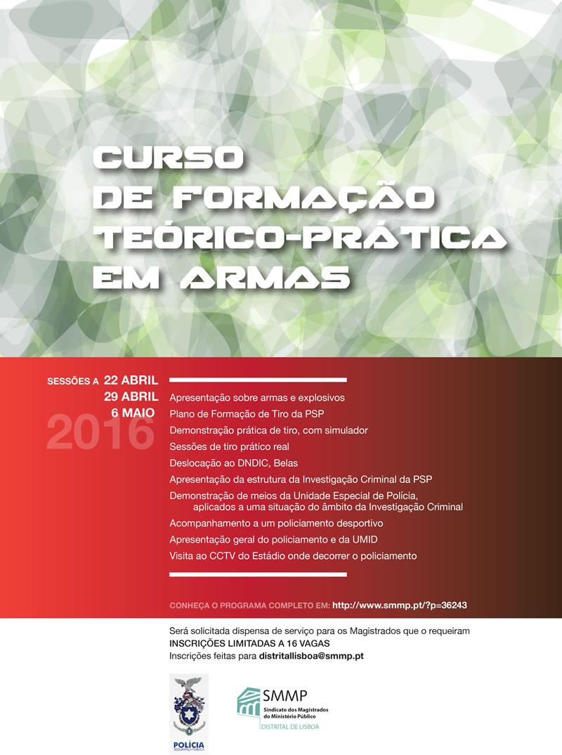 Curso de Formação Teórico-Prática Em Armas