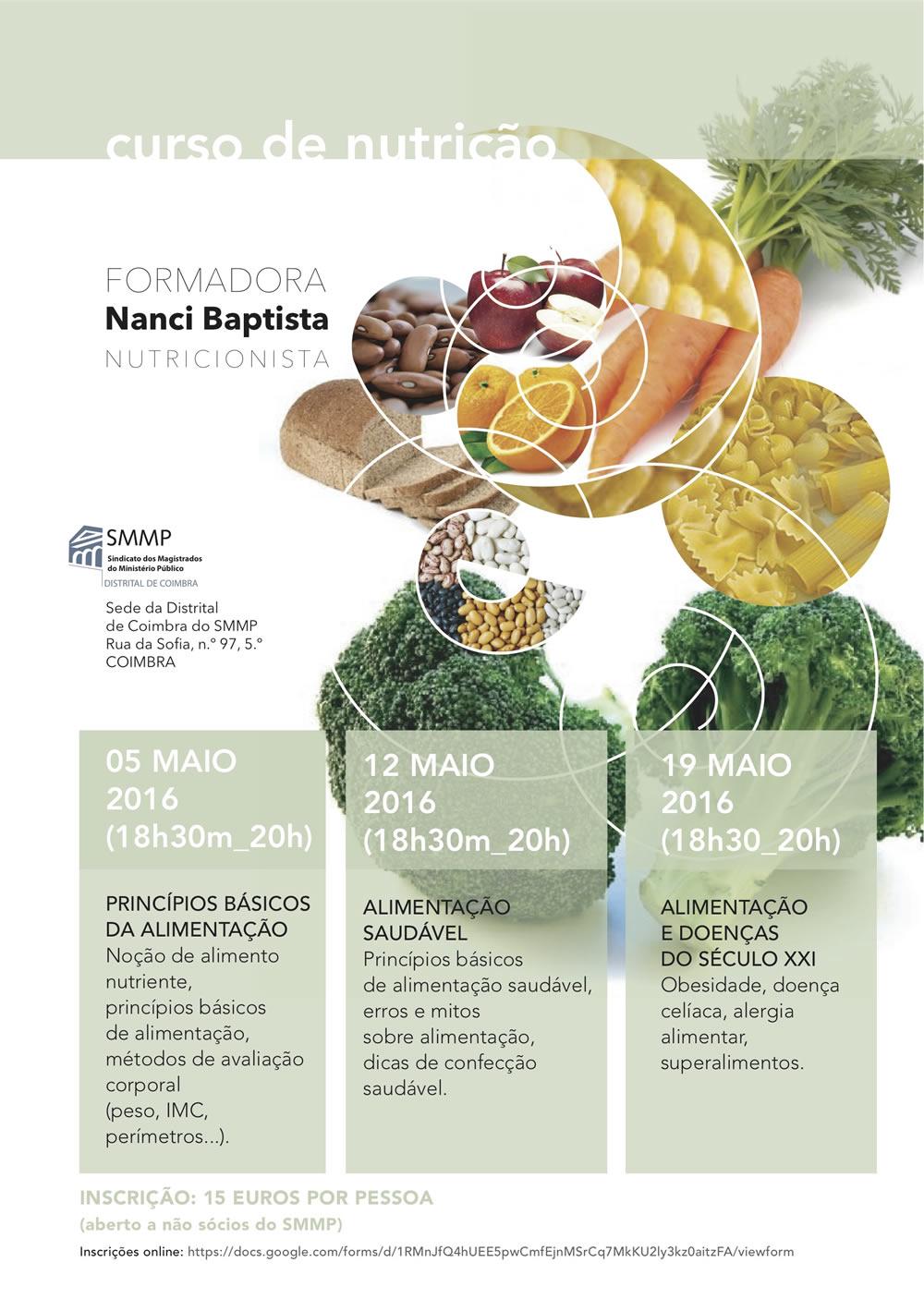 Curso de Nutrição, em Coimbra