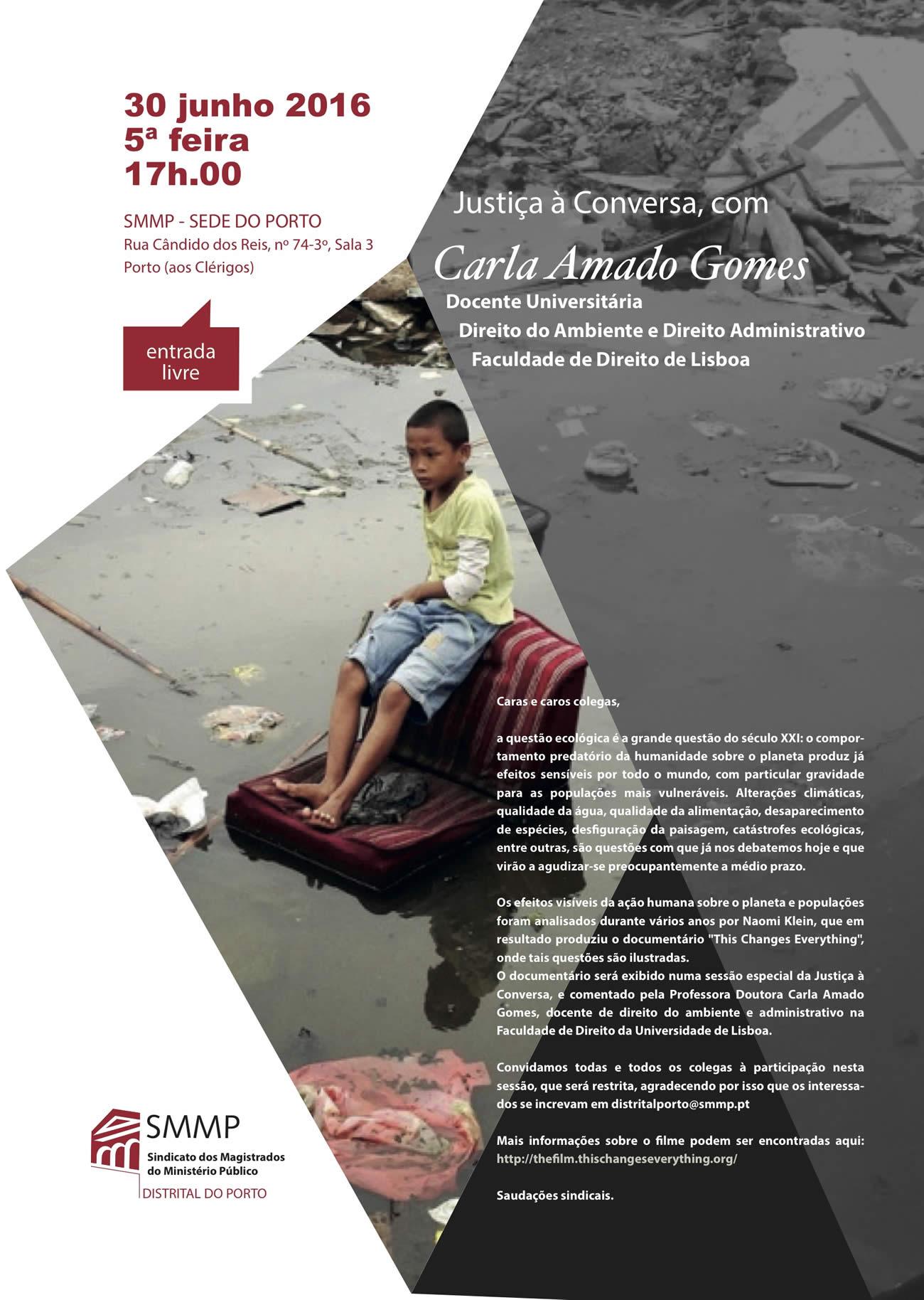 Justiça à conversa com Carla Amado Gomes