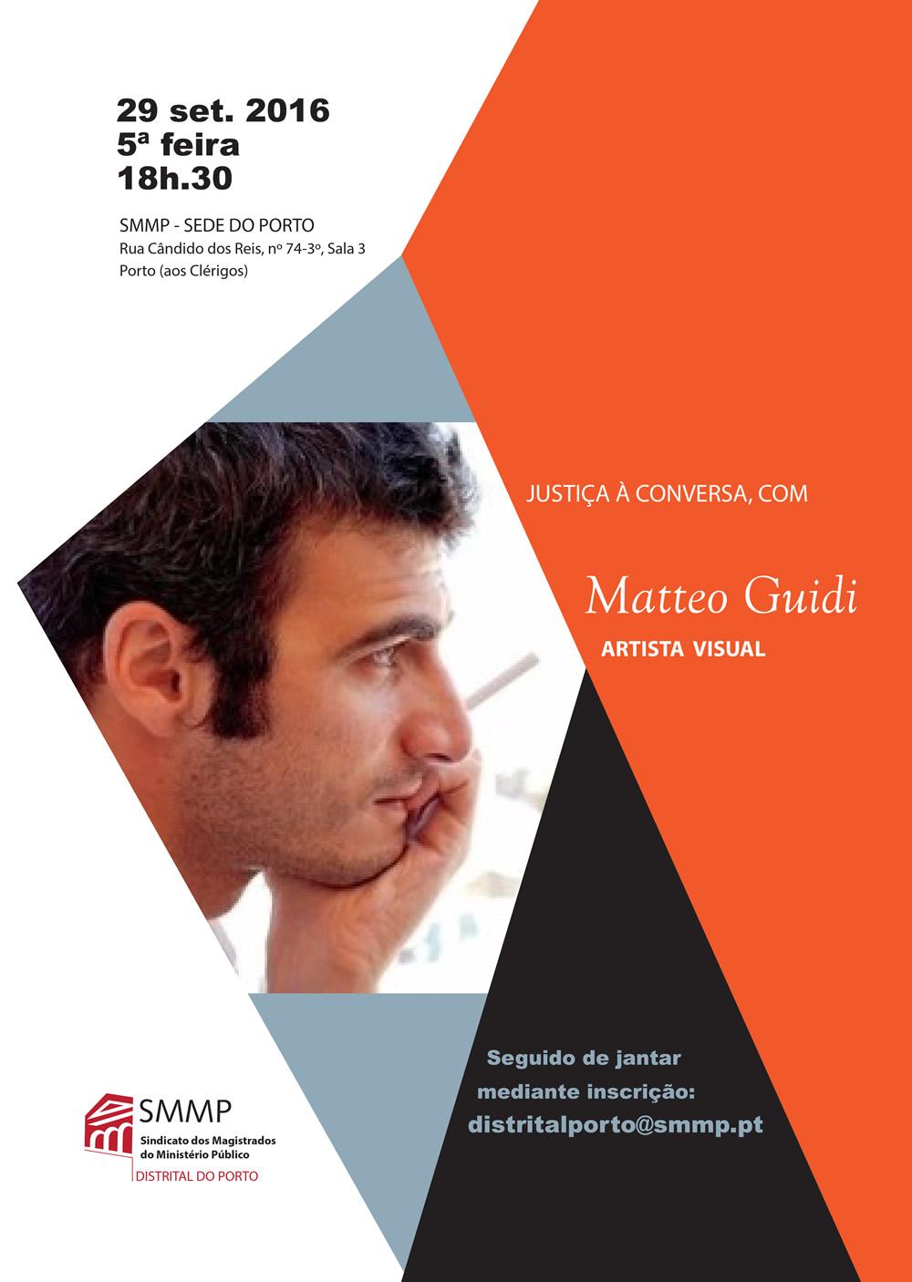 Justiça à Conversa Matteo Guidi