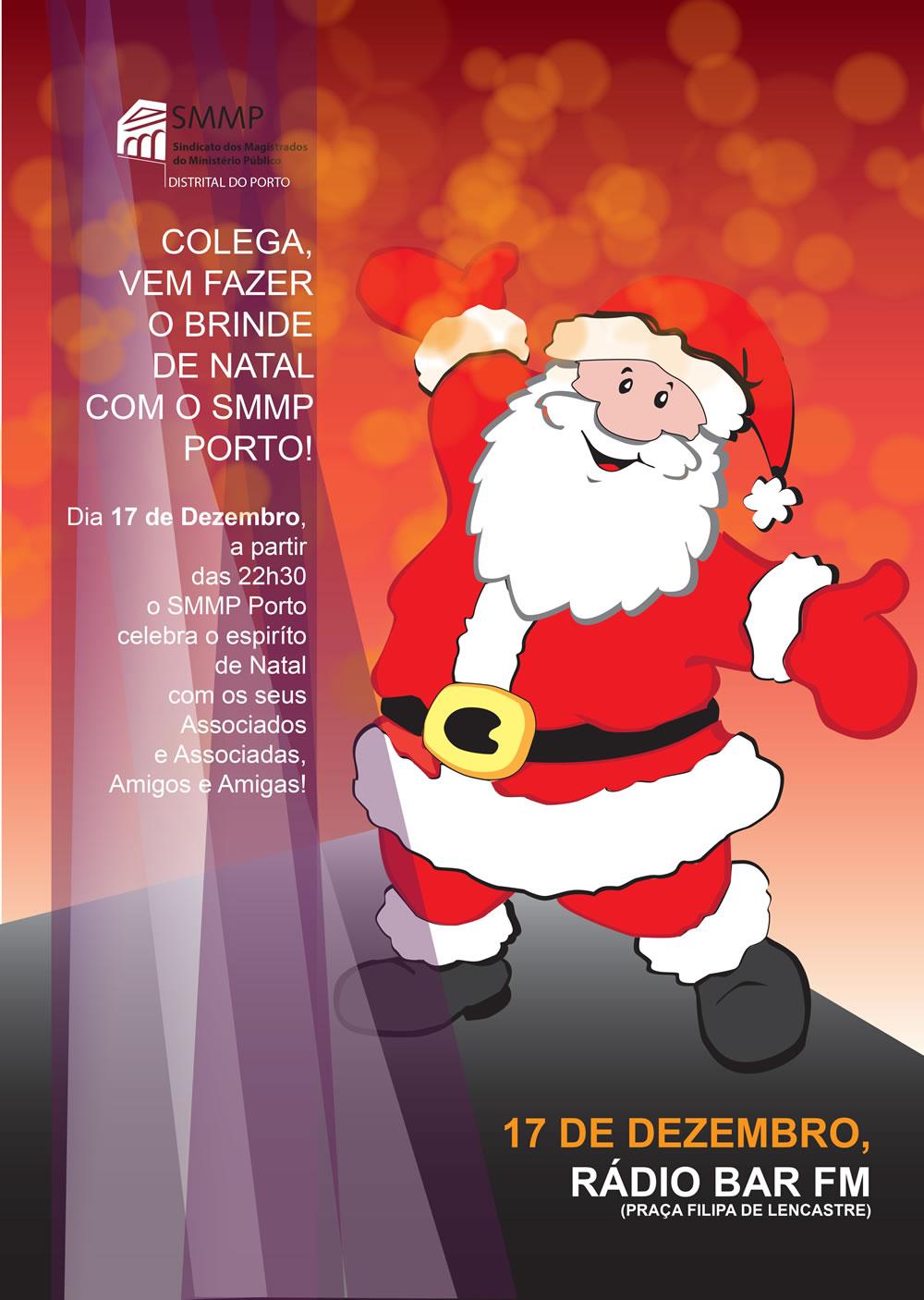 Brinde de Natal com o SMMP Porto