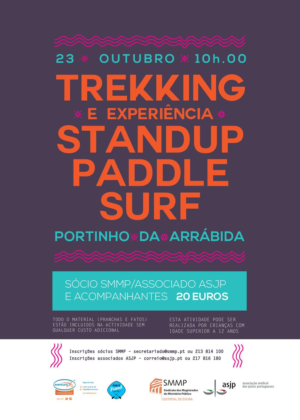 Trekking e Experiência StandUp Paddle Surf