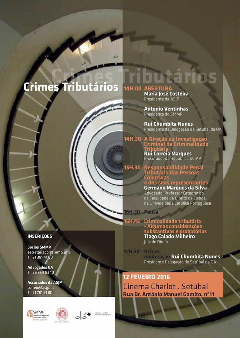 Conferência – Crimes Tributários