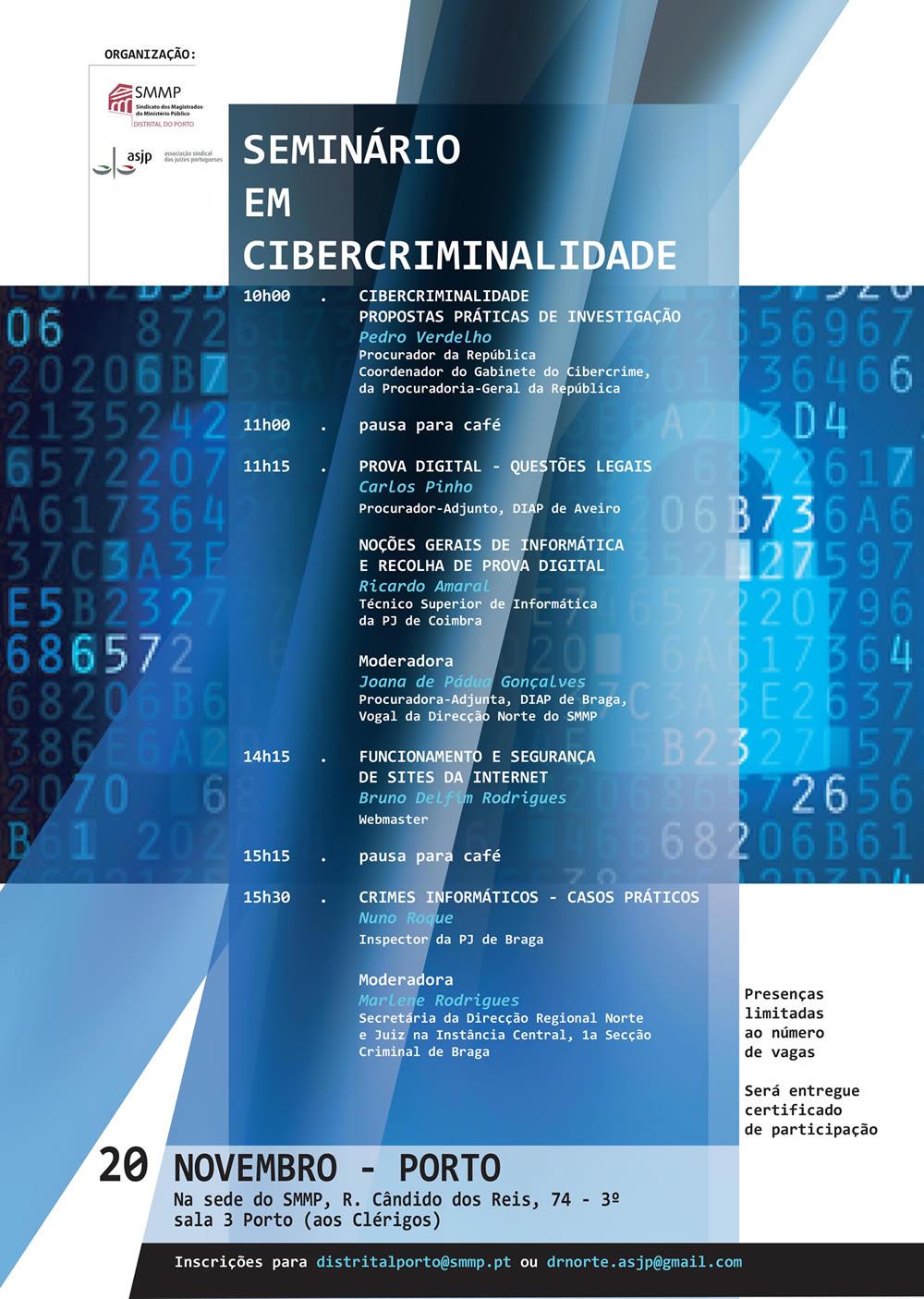 Seminário em Cibercriminalidade