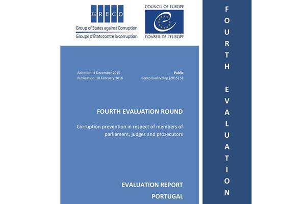 Relatório, elaborado pela GRECO e hoje divulgado, sobre corrupção em Portugal.