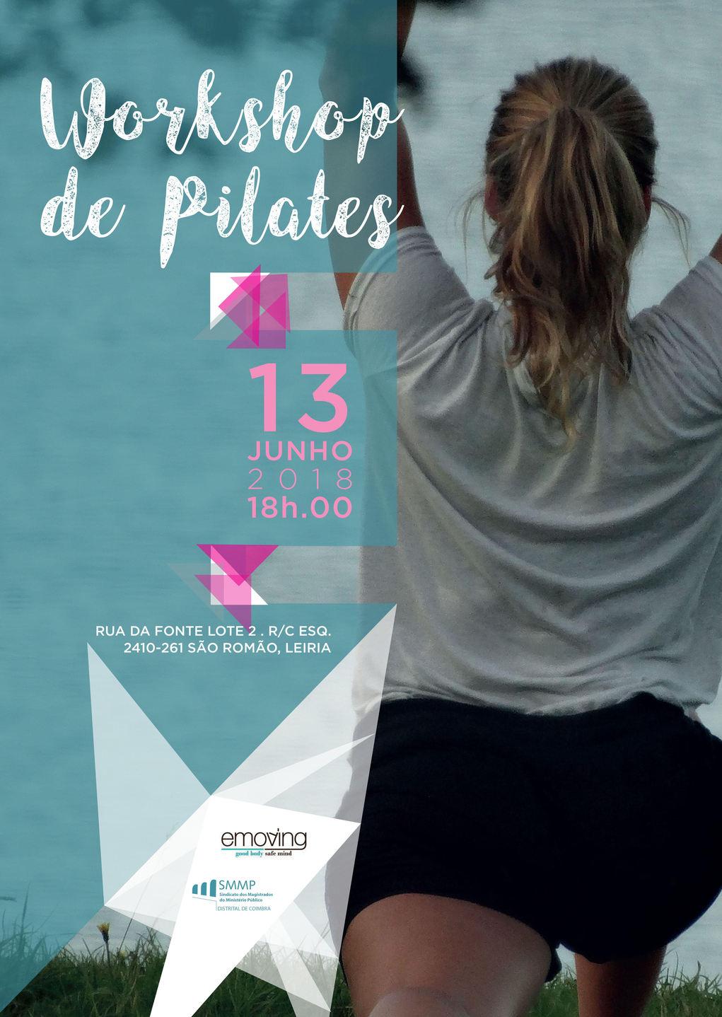 Workshop de Pilates em leiria