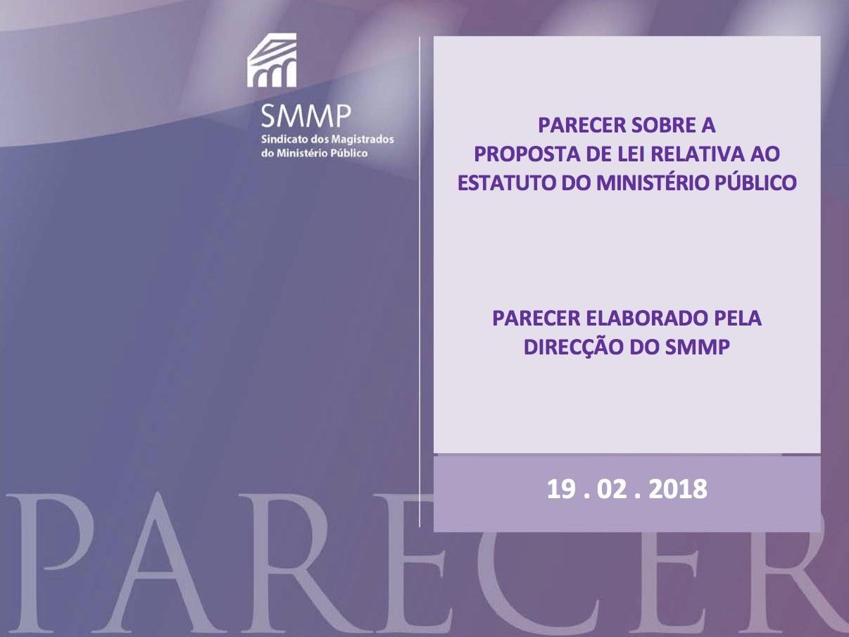 Parecer do SMMP  – Proposta de Lei que procede à alteração do Estatuto do Ministério Público.