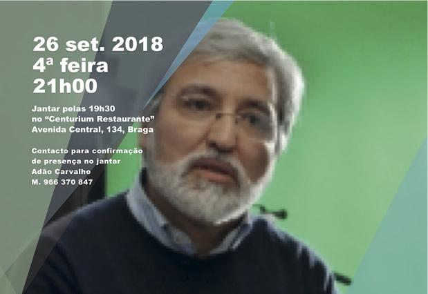 Justiça à Conversa com Moisés de Lemos Martins
