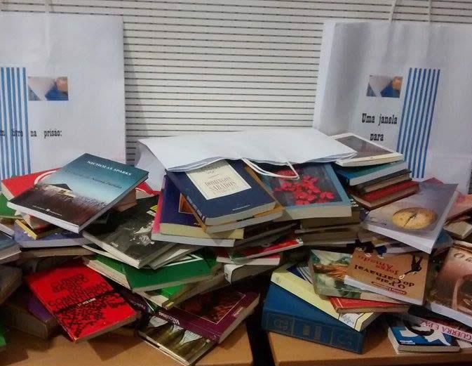 Divulgação – Um livro na prisão