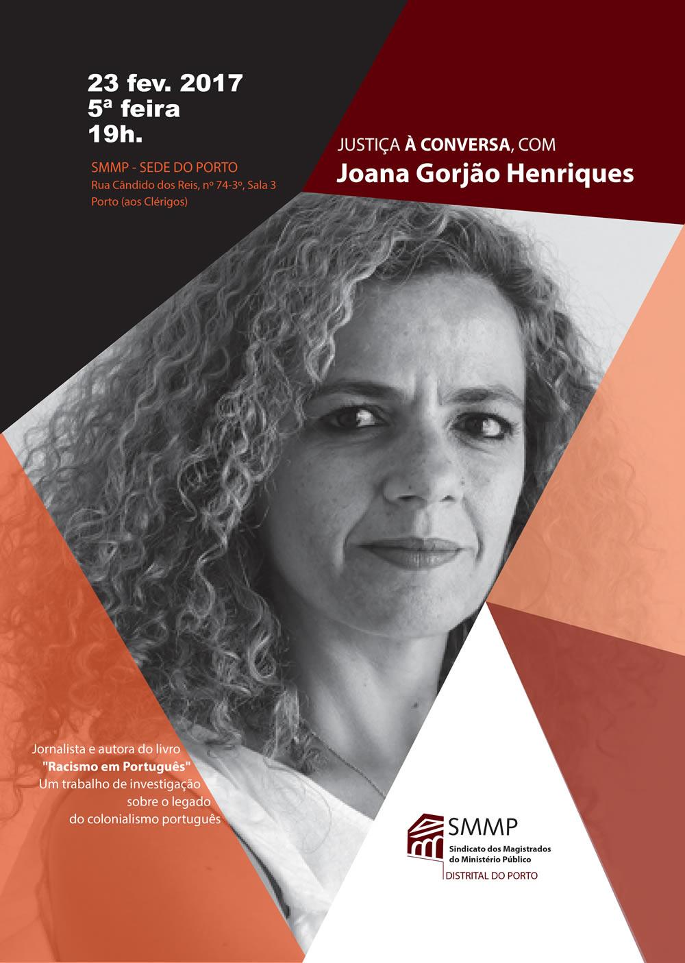 Justiça à Conversa com Joana Gorjão Henriques