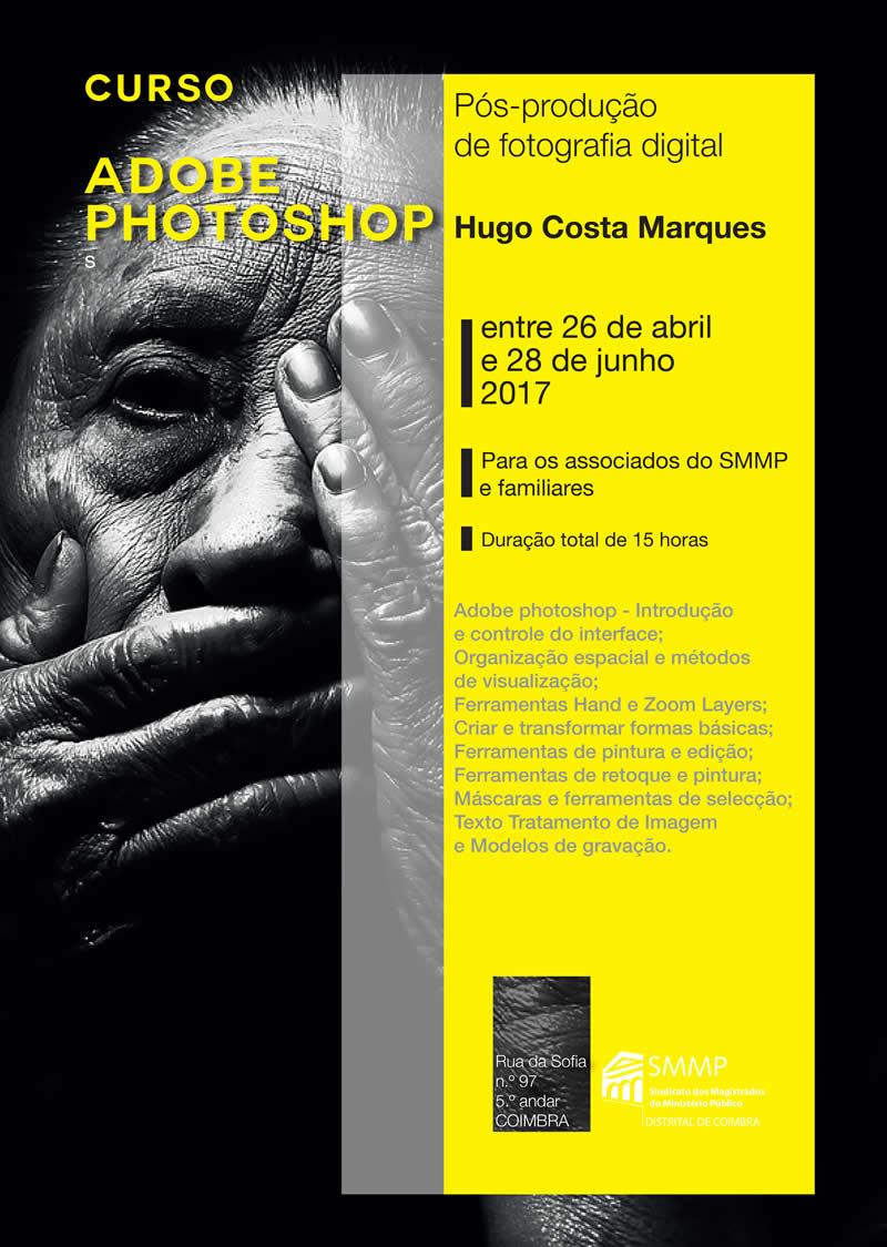 """Curso de """"Pós-produção de fotografia digital – Adobe Photoshop"""""""