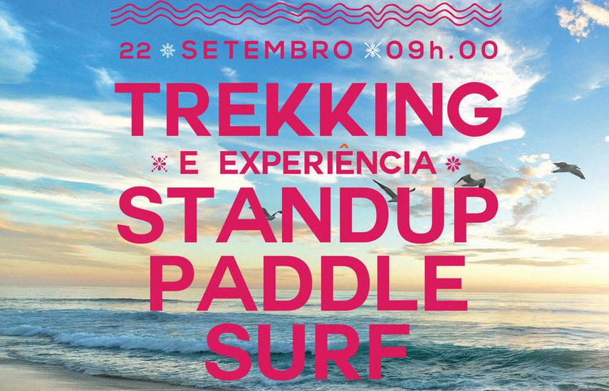 Inscrições para Experiência de Sup + Trekking no Portinho da Arrábida