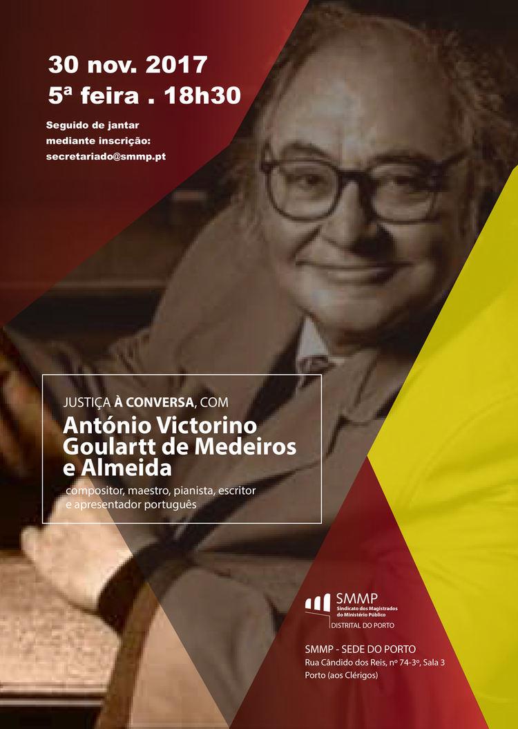 Justiça à Conversa com António Victorino Goulartt de Medeiros e Almeida