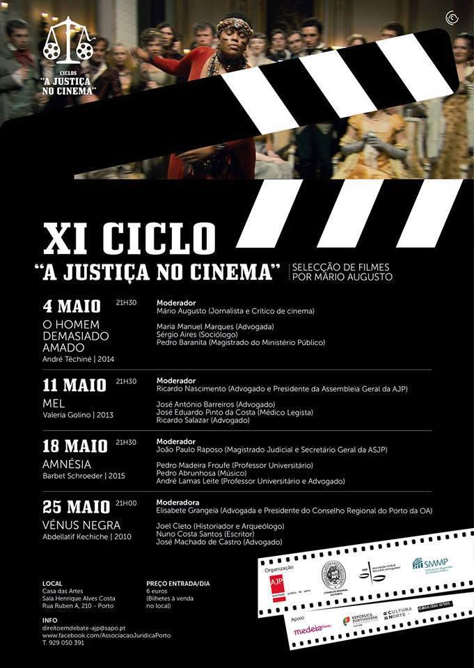 """""""XI Ciclo – A Justiça no Cinema"""""""